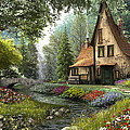 Toadstool Cottage by Dominic Davison