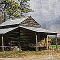 Tobacco Barn In North Carolina by Benanne Stiens