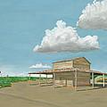 Tobacco Barn by Joseph Mintz