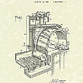 Tobacco Machine 1932 Patent Art by Prior Art Design