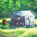 Tobacco Shed by Connie Townsend