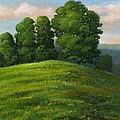 Toboggan Hill by Frank Wilson