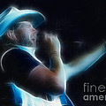Toby Keith Fractal-1 by Gary Gingrich Galleries