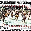 Togo Stamp by Vladimir Berrio Lemm