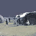 Tohono O'odham Dwelling Circa 1885-2013 by David Lee Guss