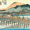 Tokaido - Kyoto by Philip Ralley