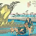 Tokaido - Okitsu by Philip Ralley