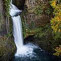 Toketee Waterfall by Randy Wood