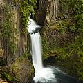 Tokettee Falls 1  by John Brueske