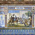 Toledo In The Province Alcove Of The Plaza De Espana by Lorraine Devon Wilke