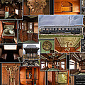 Toledo Peoria Western Pullman Rr Car Collage by Thomas Woolworth
