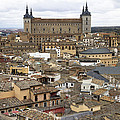 Toledo Spain Cityscape by Nathan Rupert