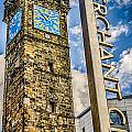 Tollbooth Clock Tower Glasgow by Gareth Burge Photography