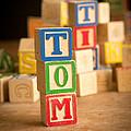 Tom - Alphabet Blocks by Edward Fielding
