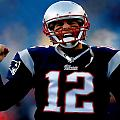 Tom Brady Back To The Super Bowl by Brian Reaves
