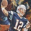 Tom Brady by Christiaan Bekker