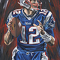 Tom Brady by David Courson