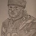 Tom Brady by Theresa Shaw