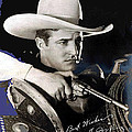 Tom Mix Portrait Melbourne Spurr Hollywood California C.1925-2013 by David Lee Guss