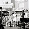 Tom Platz At Venice Beach by Shaun Higson