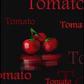 Tomato - Fruit And Veggie Series - #18 by Steven Lebron Langston