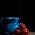 Tomatoes And Pitcher by Theodore Lewis