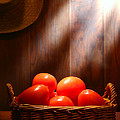 Tomatoes At An Old Farm Stand by Olivier Le Queinec