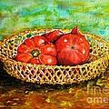 Tomatoes by Zaira Dzhaubaeva