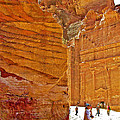 Tomb 67 In Petra-jordan by Ruth Hager