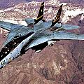 Tomcat Over Iraq by Benjamin Yeager