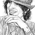 Tommy Lee Art Drawing Sketch Portrait by Kim Wang