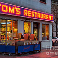 Tom's Restaurant by Jerry Fornarotto