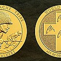 Tonto Apache Tribe Code Talkers Bronze Medal Art by Movie Poster Prints