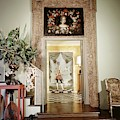 Tony Duquette's Entrance Hall by Shirley C. Burden
