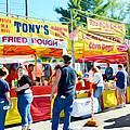 Tonys Concessions Potato Garlic Soup Bread Bowl by Jeelan Clark