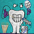 Tooth Pick Dental Art By Anthony Falbo by Anthony Falbo