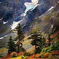 Top Of Cascade Pass by Inge Johnsson