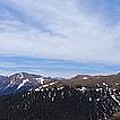 Top Of Independence Pass Panorama by Dan Sproul