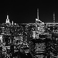 Top Of The Rock In Black And White by Dan Sproul