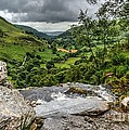 Top Of The Waterfall by Mickey At Rawshutterbug