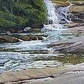 Top Of Triple Falls by Joseph Kotowski