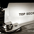 Top Secret Document In Armored Briefcase by Olivier Le Queinec