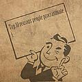 Top Ten Reasons People Procrastinate Pun Humor Motivational Poster by Design Turnpike