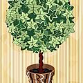 Topiary Tree by Oksana Khorkhordina