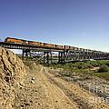 Topock Bridge Freight by Rob Hawkins
