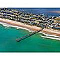 Topsail Island Aerial Panels by Betsy Knapp