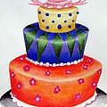 Topsy Turvy Cake by Kori Vincent