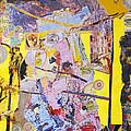 Topsy Turvy World Yellow by Alice Harrison