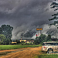 Tornado Over Madison 3 by Tommy Anderson