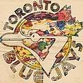 Toronto Blue Jays Vintage Art by Florian Rodarte